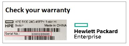 chech your HPE warranty
