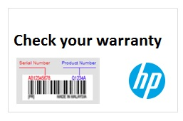 chech your HP warranty